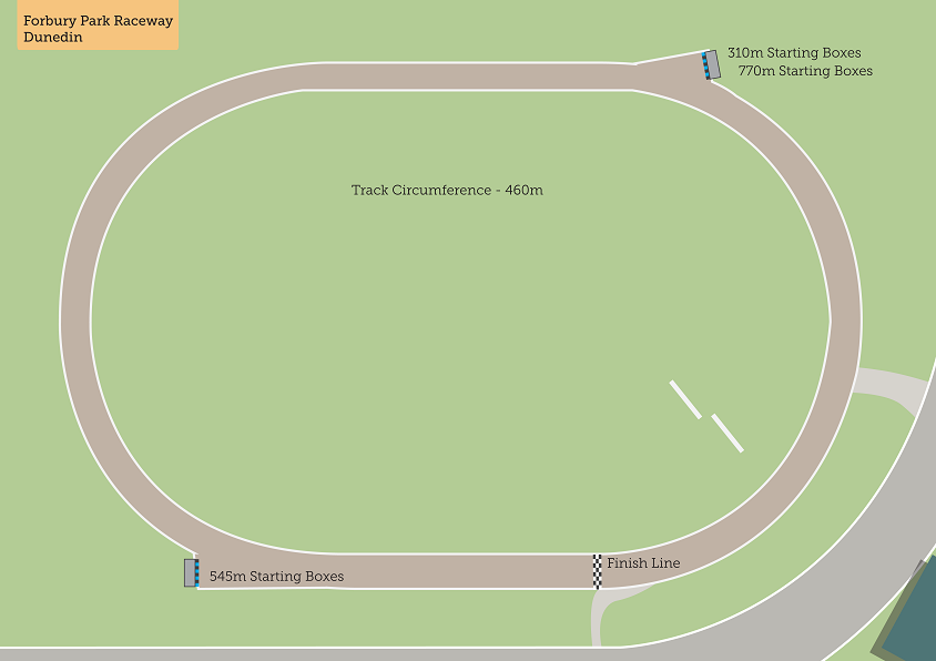 Forbury Tracklayout